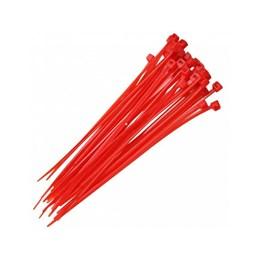 KIT Abraçadeira Nylon 10 cm 2.5 Vermelho 1000UN Frontec
