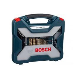 Kit Acessórios 103 Peças com Maleta [ 2607017395 ] - Bosch