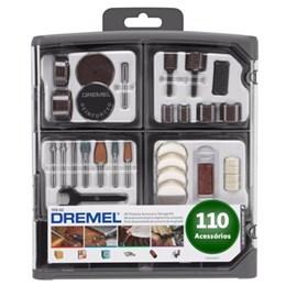 Kit Acessórios 110 Pcs 709-02 [ 26150709AD ] - Dremel