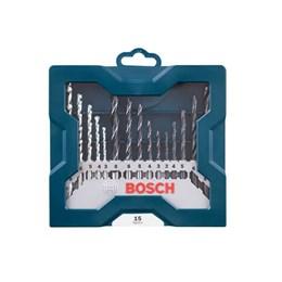 Kit Acessórios 15 Peças com Maleta [ 2607017504 ] - Bosch