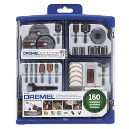 Kit Acessórios 160 Peças 710-08 [ 26150710AK ] - Dremel