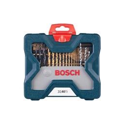 Kit Acessórios 40 Peças com Maleta [ 2607017512 ] - Bosch