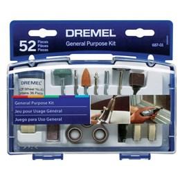 Kit Acessórios 52 Pcs 687 [ 26150687AA ] - Dremel