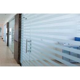 KIT Adesivo Jateado para Vidros 10CM x 2M Comfort Door 10UN