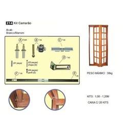 Kit Camarão p/Porta Nylon Branco 1Mt [ BK-214V/55435 ] - Rodinato