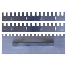 Kit Desempenadeira de Aço Dentada 26cm com 03 Peças [ 328 ] - Flextools