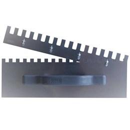 Kit Desempenadeira de Aço Dentada 36cm com 03 Peças [ 315 ] - Flextools