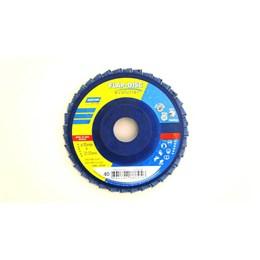 KIT Disco Flap 4.1/2 115 X 22.2  G-120 Reto Inox Norton 20UN