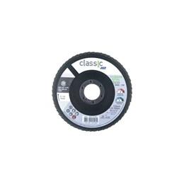 KIT Disco Flap 4.1/2 115 X 22.2  G-120 Reto Inox Norton 30UN
