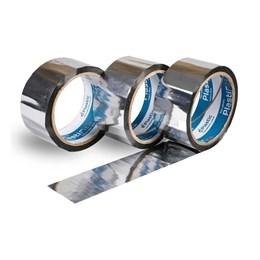KIT Fita Adesiva Alumínio 48 X 50 Dplastic 10 UNIDADES