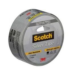 KIT Fita Silver Tape 45mm X 25 M Cinza H0002317818 3M 6UN
