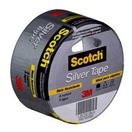 KIT Fita Silver Tape 45mm X 5 M Cinza H0002317842 3M 20UN