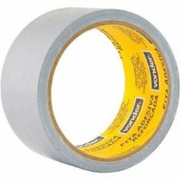 KIT Fita Silver Tape 50mm X 25M Prata Vonder 10UN