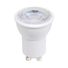KIT Lâmpada LED Dicróica MR11 3.5W GU10 3000K Taschibra 10UN