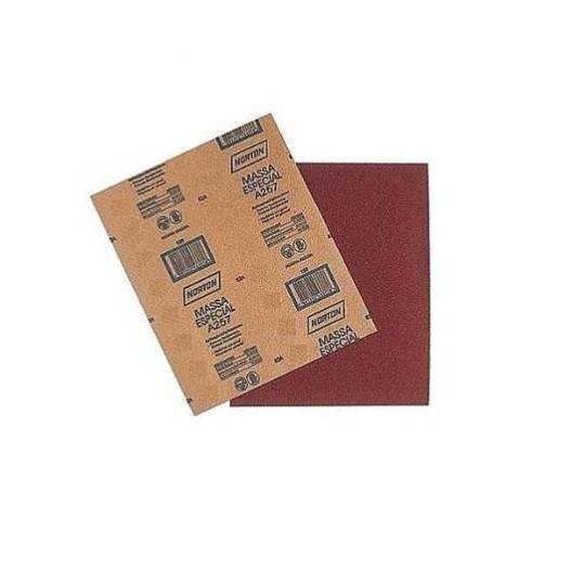 KIT Lixa Folha Papel G 150 Massa A-257 - Norton 300 UN