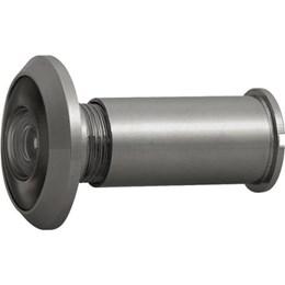 KIT Olho Mágico C/Visor p/Porta Oxidado Preto 10UN Vonder