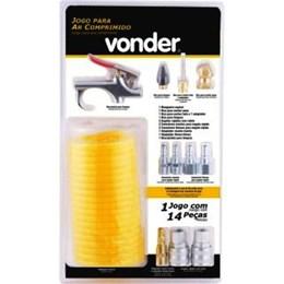 Kit para Ar Comprimido 14 Peças [ 3599120000 ] - Vonder