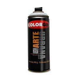 KIT Tinta Spray Arte Urbana Cinza Claro 400ml - Colorgin 12UN