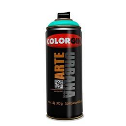 KIT Tinta Spray Arte Urbana Verde Mata 400ml - Colorgin 12UN