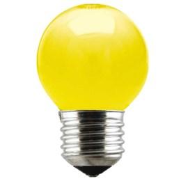 Lâmpada Bolinha Amarela 15 W [ 11050020 ] - Taschibra