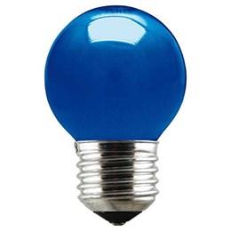 Lâmpada Bolinha Azul 15 W - Taschibra