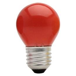 Lâmpada Bolinha Vermelha 15 W [ 11050022 ] - Taschibra