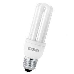 Lâmpada Compacta Tripla 15 W Branca [ 04060304 ] (220V) - Taschibra