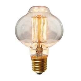 Lâmpada Filamento de Carbono 40W 2200K BR85 [ 16020014 ] (220V) - Blumenox