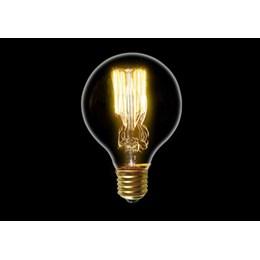 Lâmpada Filamento de Carbono 40W 2200K G80 [ 16020002 ] (220V) - Blumenox
