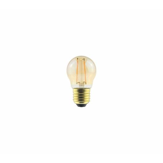 Lâmpada Filamento LED 2.W Ambar 2000K G45 [ 180.06.0622 ] - G-Light