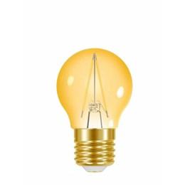 Lâmpada Filamento LED 3W Ambar G45 [ 11080487 ] (Autovolt) - Taschibra