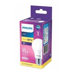 Lâmpada Led 4,5W 3000K A60 [ 929002037412 ] (Autovolt) - Philips