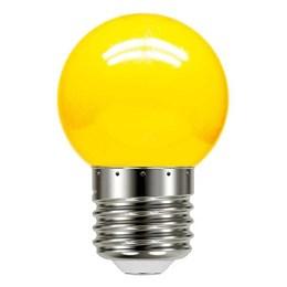 Lâmpada LED Bolinha 1W Amarela [ 11080079 ] (220V) - Taschibra