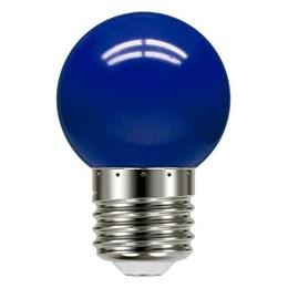 Lâmpada LED Bolinha 1W Azul [ 11080081 ] (220V) - Taschibra