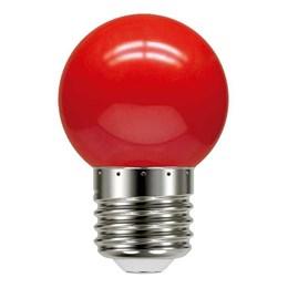 Lâmpada LED Bolinha 1W Vermelha [ 11080085 ] (220V) - Taschibra