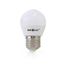 Lâmpada LED Bolinha 4W 2700K (Bivolt) Ourolux