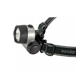 Lanterna com Suporte Cabeça 6 Leds Lc 007 [ 8075007000 ] - Vonder
