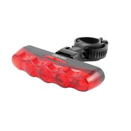 Lanterna Traseira p/ Bicicleta 5 Leds [ 8075000051 ] - Vonder