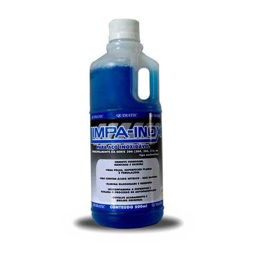 Limpa Inox Líquido 1 L [ LI2 ] - Tapmatic