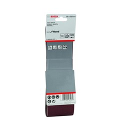 Lixa Cinta 0.533 X 75  G  100  Best For Wood com 3 Un [ 2608606072 ] - Bosch