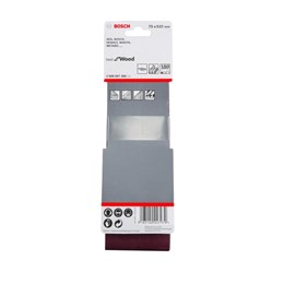 Lixa Cinta 0.533 X 75  G  180  Best For Wood com 3 Un [ 2608607260 ] - Bosch