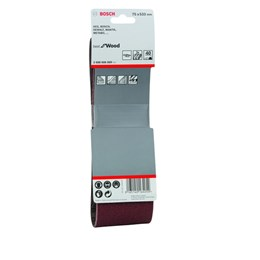 Lixa Cinta 0.533 X 75  G  40  Best For Wood com 3 Un [ 2608606069 ] - Bosch