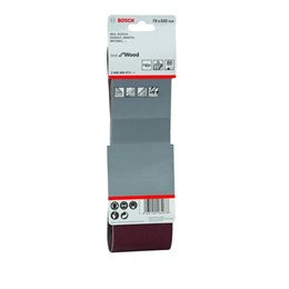 Lixa Cinta 0.533 X 75  G  80  Best For Wood com 3 Un [ 2608606071 ] - Bosch