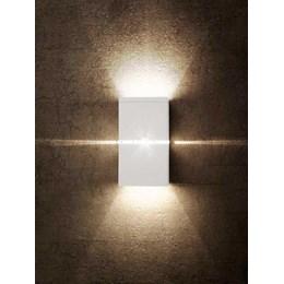 Luminária Arandela Hadar Alumínio 1xG9 Branco [ 02070087-01 ]- Taschibra