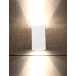 Luminária Arandela Sol Alumínio 2xGZ10 Branco [ 02070084-18 ]- Taschibra