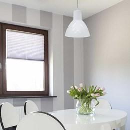 Luminária Pendente Alumínio Branco [ TD622 ] - Taschibra