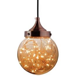 Luminária Pendente LED Ara 5W Ambar [ 15050661 ] - Taschibra