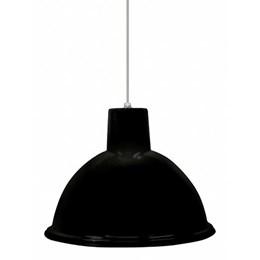 Luminária Pendente Preto Td820 [ TD820 PRETO ] - Taschibra