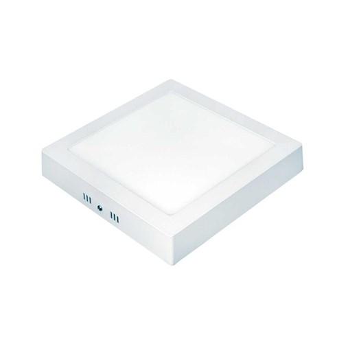 Luminária Sobrepor Quadrada Lux LED 18W 6500K Autovolt Taschibra