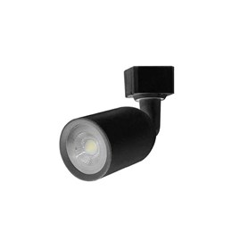 Luminária Spot LED para Trilho Eletrificado MR16 6W 6500K Preto [ 15090237 ] - Taschibra
